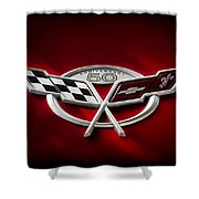 50th Anniversary Shower Curtain