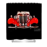 '52 Mg Td Shower Curtain