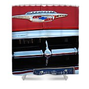 53' Chey Grill Shower Curtain