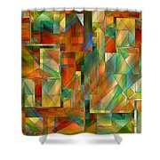 53 Doors Shower Curtain