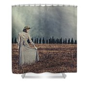 Tuscany Shower Curtain by Joana Kruse