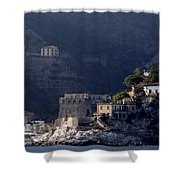Views From The Amalfi Coast In Italy Shower Curtain