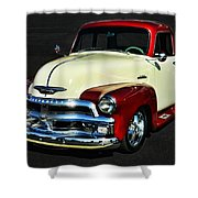 '54 Chevy Truck Shower Curtain