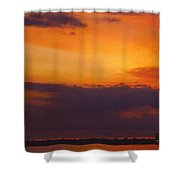 Sky Scape Shower Curtain