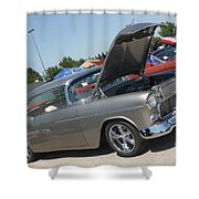55 Bel Air-8206 Shower Curtain