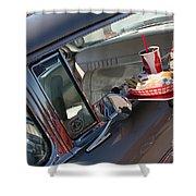 55 Bel Air Door-8190 Shower Curtain