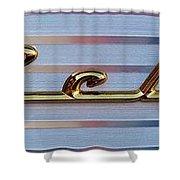 55 Chevy Bel Air Shower Curtain