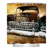55 Chevy Shower Curtain