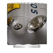 550 Tail Shower Curtain