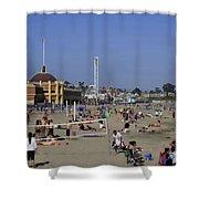 558 Pr Santa Cruz Main Beach Shower Curtain