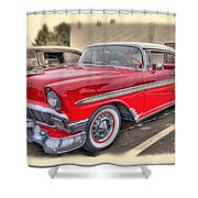 56 Classic Chevy Shower Curtain