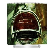 57 Chevy Taillight  Shower Curtain
