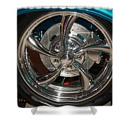57 Mags Shower Curtain