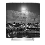 570 Bw The Sea Odessy                                      In Monochome 2 Shower Curtain