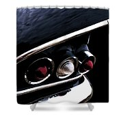 '58 Chevy Impala Fin Shower Curtain