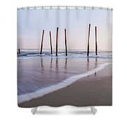 59th Street Shower Curtain