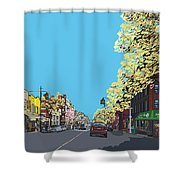 5th Ave And Garfield Park Slope Brooklyn Shower Curtain