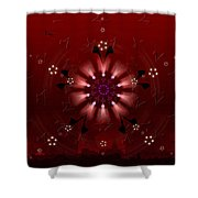 5x5 Synthesis 9 Shower Curtain