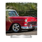 1955 Chevrolet 210 Shower Curtain