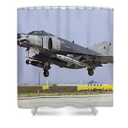 A Turkish Air Force F-4e-2020 Shower Curtain