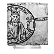 Alfred The Great (849-899) Shower Curtain