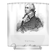 Anthony Wayne (1745-1796) Shower Curtain