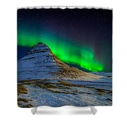 Aurora Borealis Or Northern Lights Shower Curtain