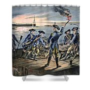 Battle Of Long Island, 1776 Shower Curtain