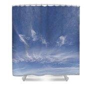 Big Blue Sky Shower Curtain