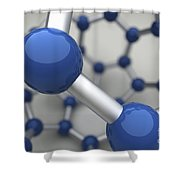 Bucky Ball Shower Curtain