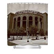 Busch Stadium - St. Louis Cardinals Shower Curtain by Frank Romeo