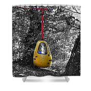 Cableway Shower Curtain