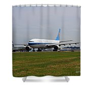 China Southern Airlines Airbus A330 Shower Curtain