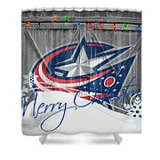 Columbus Blue Jackets Shower Curtain