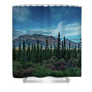 Denali Highway, Route 8, Offers Views Shower Curtain