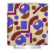 Design From Nouvelles Compositions Decoratives Shower Curtain