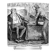 Dickens Martin Chuzzlewit Shower Curtain