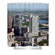 Downtown Austin Texas  Shower Curtain