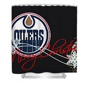Edmonton Oilers Shower Curtain