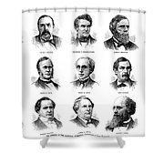 Electoral Commission, 1877 Shower Curtain