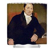 Eli Whitney (1765-1825) Shower Curtain