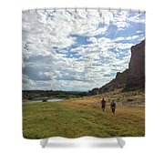 Exploring Big Bend National Park Shower Curtain