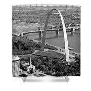 Gateway Arch Saint Louis Mo Shower Curtain