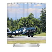 Grumman Hellcat Shower Curtain