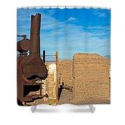 Harmony Borax Works Death Valley National Park Shower Curtain