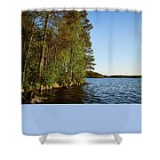 Haukkajarvi Shower Curtain