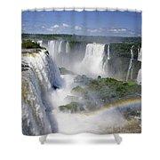 Iquazu Falls - South America Shower Curtain