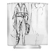 James Wolfe (1727-1759) Shower Curtain