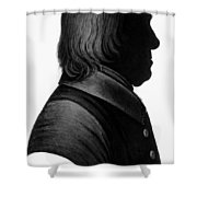 Jeremy Bentham (1748-1832) Shower Curtain