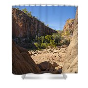 Katherine Gorge Landscapes Shower Curtain